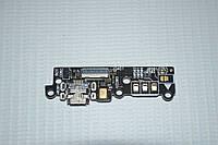 Шлейф (Flat cable) с коннектором зарядки, микрофона для Asus Zenfone 6 A600CG