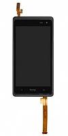 Оригинальный дисплей (модуль) + тачскрин (сенсор) с рамкой для HTC Desire 600 | 606W