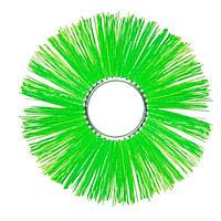 Диск щетки  поливомоечной машины (полипропилен) (120х550)