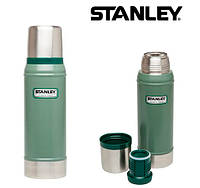 Термос STANLEY Classic Vacuum Bottle 0.75L зеленый 10-01612-009