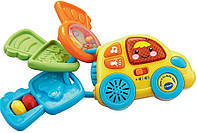 """VTech Музыкальная игрушка погремушка """"Машинка с ключами"""" Beep & Go Baby Keys Оригинал из США"""
