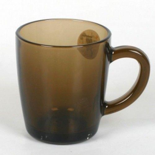 Чашка для чаю Pasabahce Basic, 350 мл (h=98,5 мм,d=86х66мм) BRONZE, 2 шт. 55531