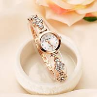 Позолоченые женские часы Код 041