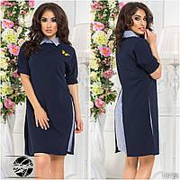 Платье-рубашка 42
