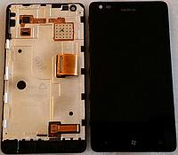 Дисплей (модуль) + тачскрин (сенсор) для Nokia Lumia 900