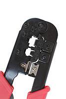 Инструмент Extools НТ-568R для обжима 6р4с/8p8c (с трещоткой)