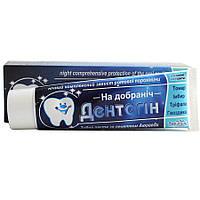 Зубная паста Дентогин На добраніч на основе аюрведических трав 100 гр
