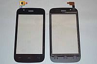 Оригинальный тачскрин / сенсор (сенсорное стекло) для Explay A400 (черный цвет) + СКОТЧ В ПОДАРОК