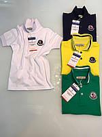 Школьная футболка-поло для мальчика (копия бренда)