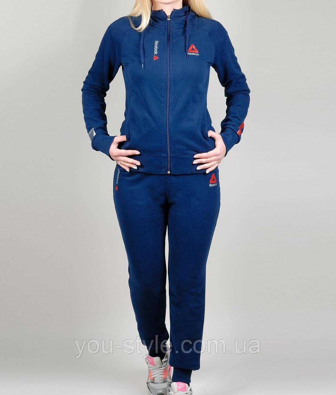 b0c47de2 Женский спортивный костюм Reebok 1130 Тёмно-синий: продажа, цена в ...