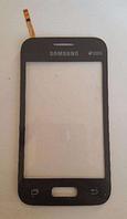 Тачскрин / сенсор (сенсорное стекло) для Samsung Galaxy Young 2 Duos G130H (черный цвет)
