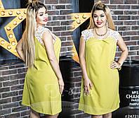 298f2922f88 Элегантное платье декорировано объемным дорогим кружевом
