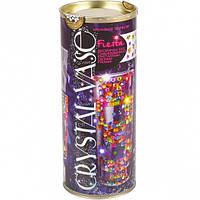 "Набор ваза с кристаллами ""Crystal vase"" CV-01-01"