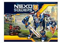 """Конструктор 79246 Lele Nexo Knights (аналог Лего 70327) """"Королевский робот"""", 389 дет"""