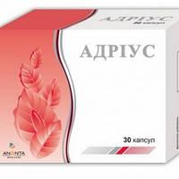 """Препарат для потенции """"Адриус""""- усиливает половое влечение (либидо);повышает эрекцию; устраняет сперматорею"""