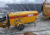 Аренда стационарных бетононасосов