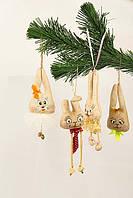 Замечательные, веселые, забавные игрушки ручной работы от Студии  подарят Вам Новогоднее настроение.