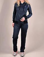 Женский спортивный костюм Nike 1148 Тёмно-синий