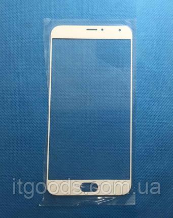 Стекло дисплея (экрана) для Meizu MX5 | MX5e (белый цвет)