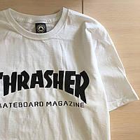 Thrasher Skateboard футболка белая \ Бирка, фото 1