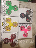 Вертушка  Фиджет Спиннер Смайлик, антистрессовая игрушка Fidget Spinner, фото 1