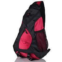 Рюкзак 20 л Onepolar 1249 малиновый через плечо.
