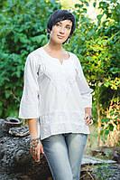 Блуза White shine, белая с вышивкой