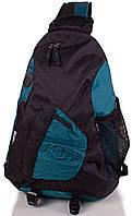 Рюкзак 20 л Onepolar 1249 бирюзовый через плечо.