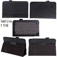 Чехол-книжка для Samsung Tab3 Lite7 T110 | T111 (черный цвет)