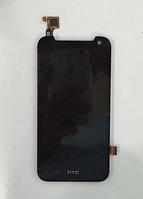 Оригинальный дисплей (модуль) + тачскрин (сенсор) для HTC Desire 310 One SIM (черный цвет, 128*63,5mm)