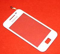Оригинальный тачскрин / сенсор (сенсорное стекло) для Samsung Galaxy Ace S5830i (белый цвет, самоклейка)