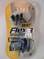 Станки для бритья Бик (Bic) Flex comfort- 3 оригинал