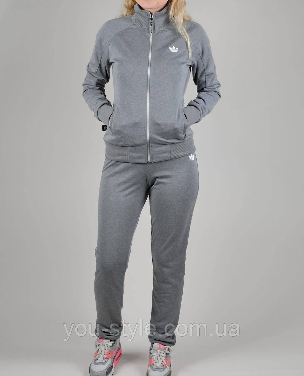 Женский спортивный костюм Adidas 1153 Серый