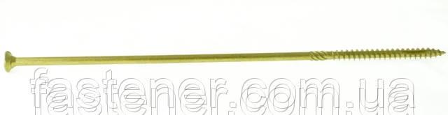 Саморез по дереву Cutters 8,0х300, с покр. Сorrseal, потай TX40, упак.- 50 шт, Швеция