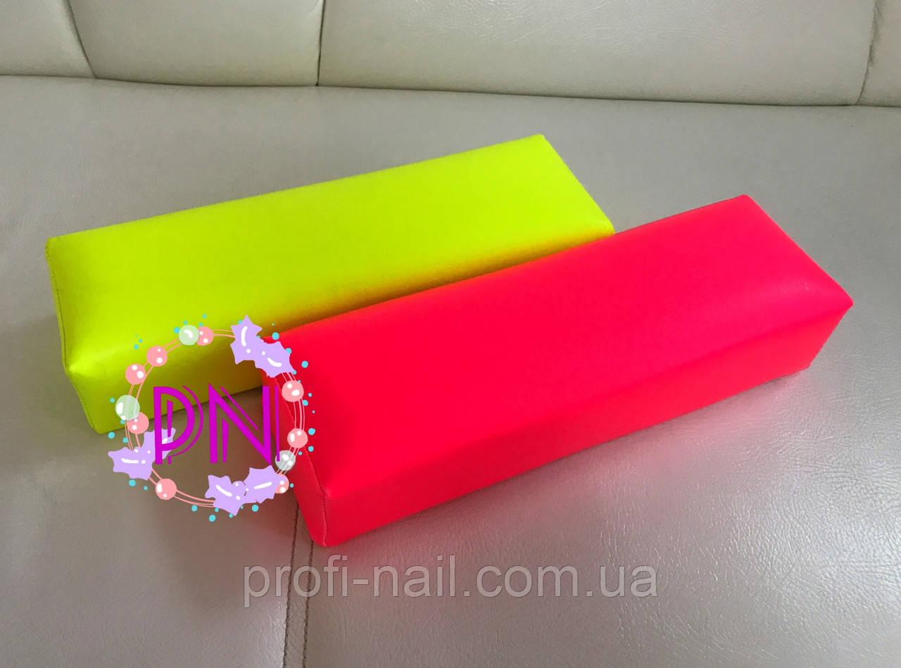 """Подставка(подлокотник) для маникюра,Украинское производство """"Розовый"""""""