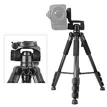 Профессиональный фото-видео штатив Q111 (150 см.), фото 2