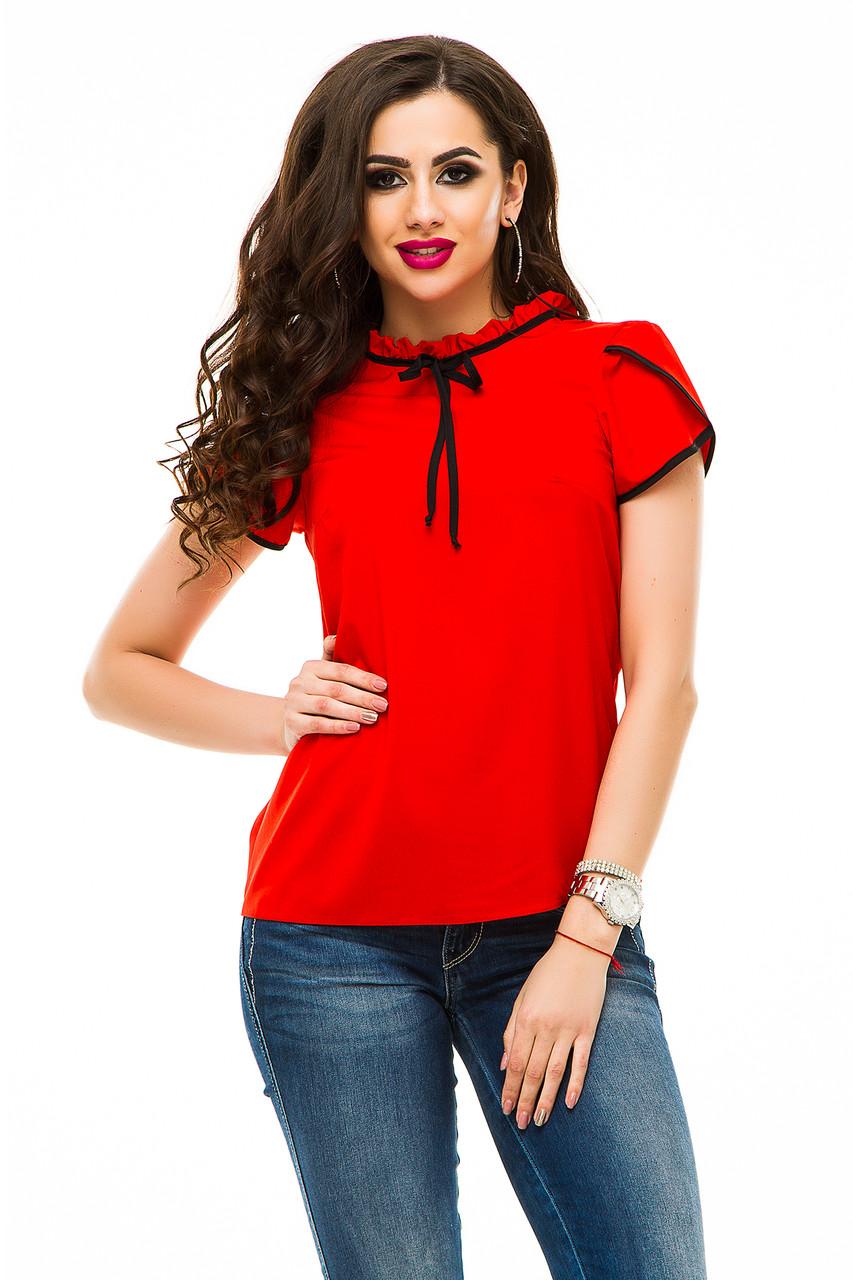 Блузка 333 красная