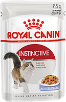 Royal Canin Instinctive  (кусочки в желе) 85г*12шт - паучи для кошек старше 1 года