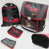Набор Josef Otten PREMIUM-F Racing: ранец каркасный + сумка для обуви + пенал-книжка 1002890