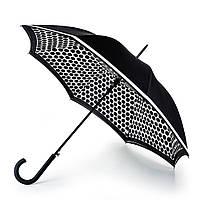 Женский зонт-трость Fulton Bloomsbury-2 L754 - Contrast Spot