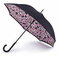 Женский зонт-трость Fulton Bloomsbury-2 L754 - Painted Roses