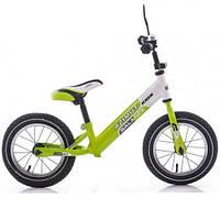 """Детский беговел Balance Bike Air 12"""" зеленый"""