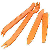 Набор инструментов для снятия внутренней обшивки салона (дверные карты, пластик, клипсы)