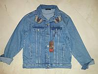 Джинсовая курточка женская MOM, фото 1