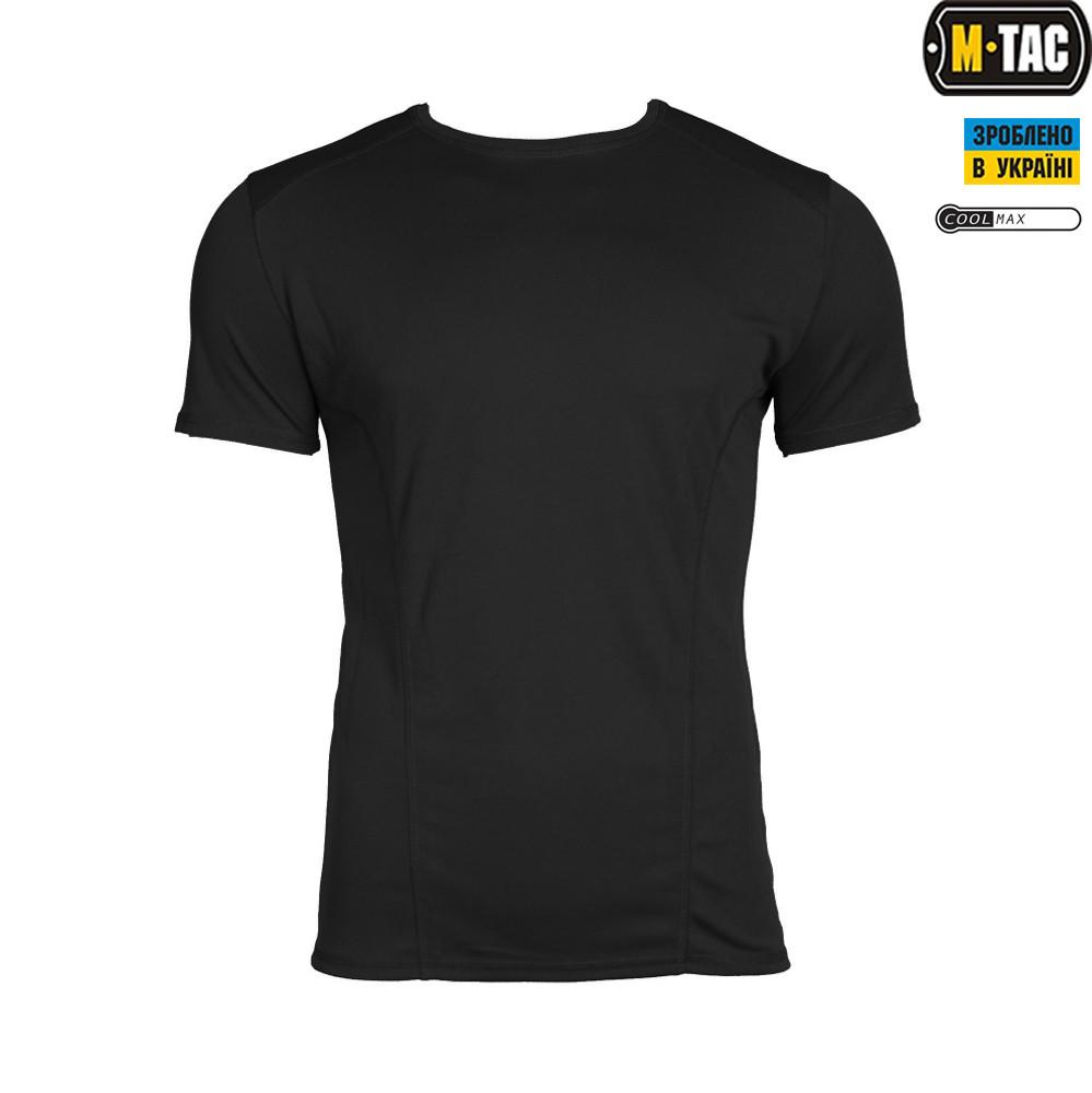 M-Tac футболка Athletic Coolmax Black