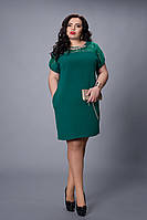 Платье мод №502-7, размер 48-50,50-52,52-54,54-56 бутылка, фото 1