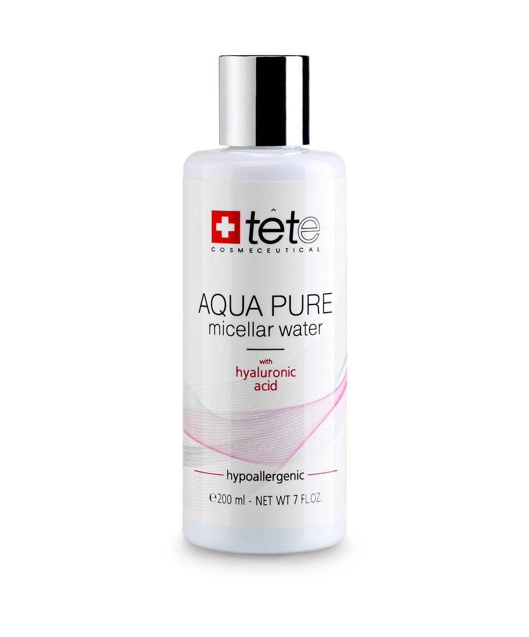 TETe Cosmeceutical Мицеллярная вода с гиалуроновой кислотой 200 мл