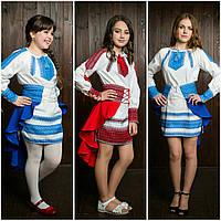 Этно вышитый костюм для девочек
