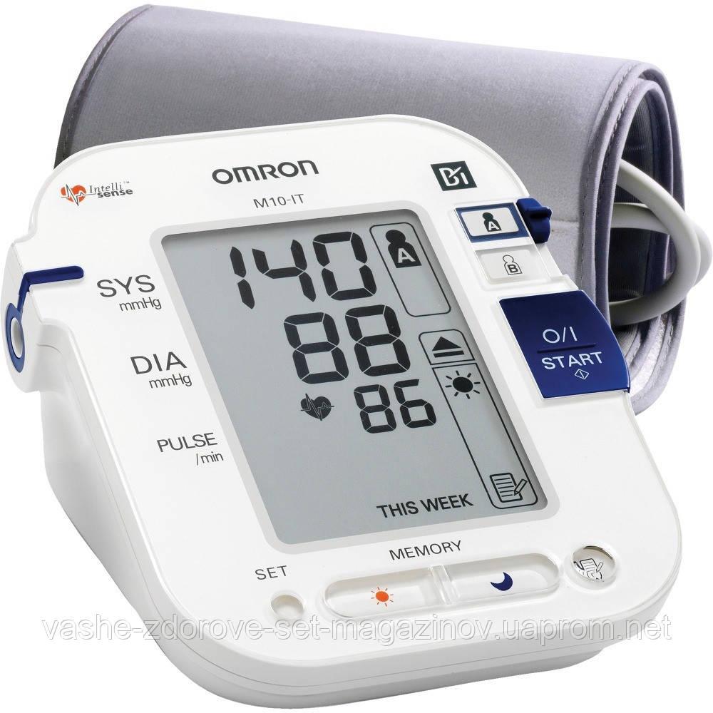 Автоматический тонометр Omron M10 IT с удлиненной манжетой Comfort Cuff - Интернет-магазин медтехники и товаров для здоровья в Киеве