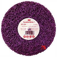 3М™ 05810 Scotch-Brite™ Clean&Strip XT-ZS Purple™ - Зачистной круг на шпинделе 150x13х8 мм, XCRS, пурпурный
